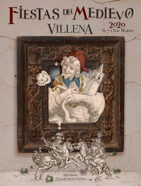Cartel de la Fiestas del Medievo en Villena