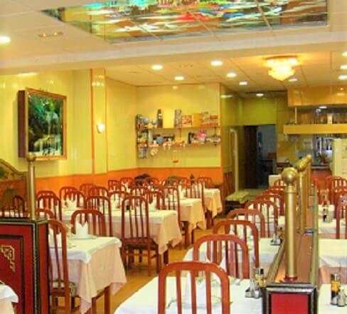 Restaurantes : el restaurante chino